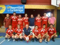 L'équipe A en finale de la Coupe Comité