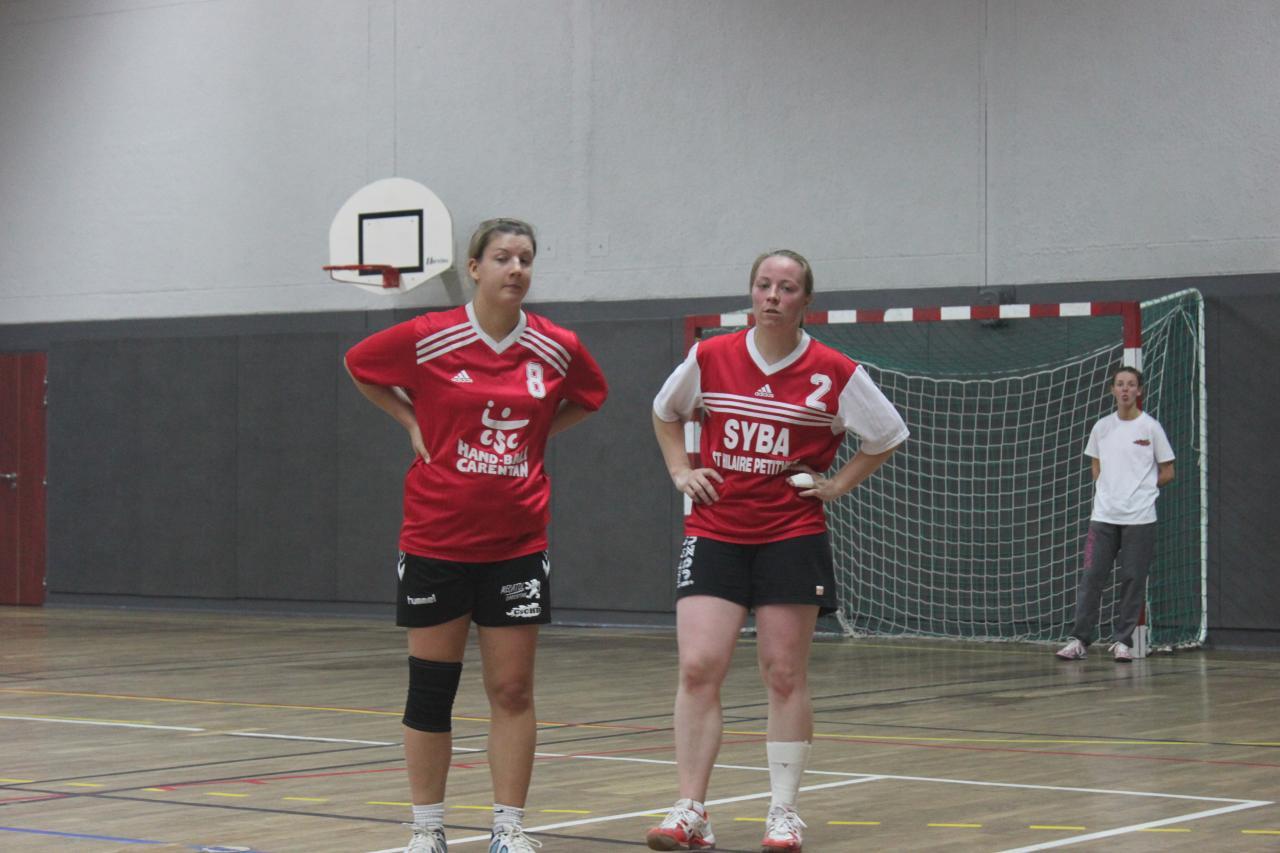 Match seniors filles contre Les Pieux